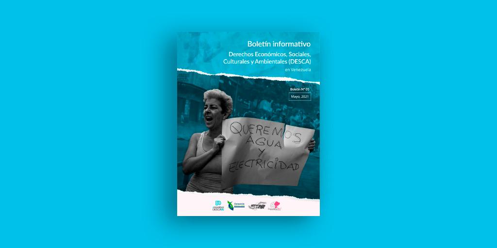 Quinto boletín diagnóstico de los DESCA en Venezuela